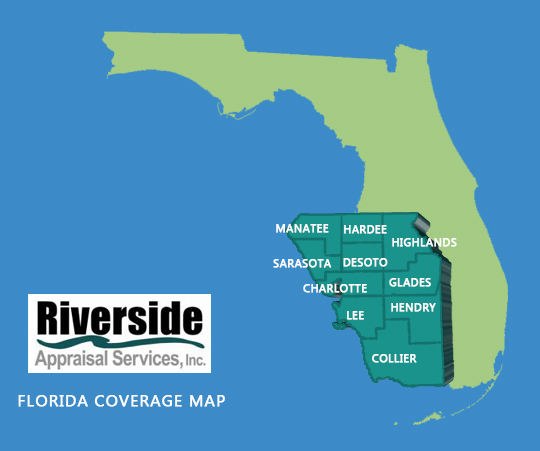 Florida coverage map